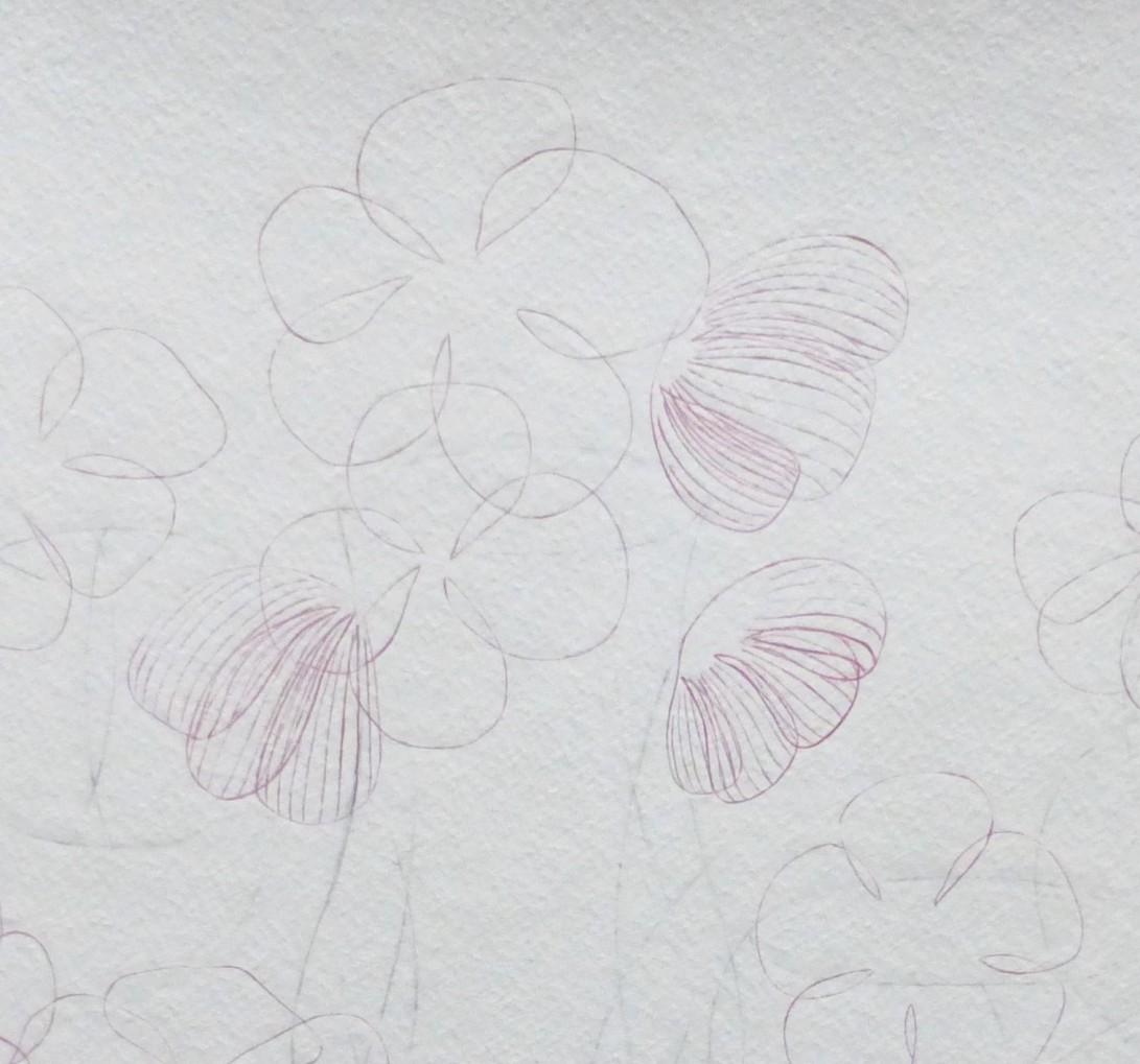 Flowers II 120418, detail