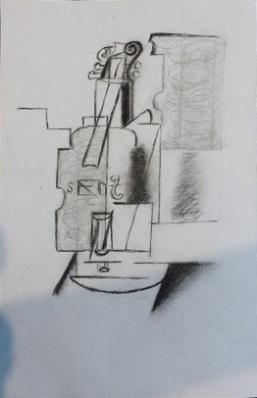 Gaa Wai (dot) com, Picasso Violin 1912 resizse 10