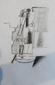 Gaa Wai (dot) com, Picasso Violin 1912